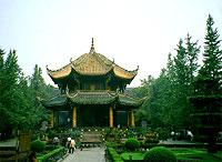 Temple Qingyang à Chengdu