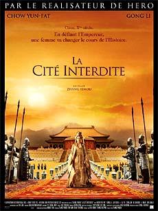 Affiche du film La Cité Interdite