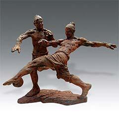 Ancient Chinese Soccer Yu Yang & Luo Jia - Chongqing