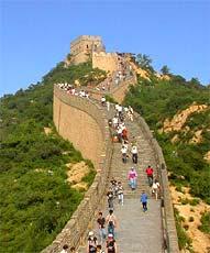Grande Muraille à Badaling