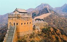 Grande Muraille à Jinshangling